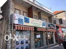 Commercial deed for rent containing three shops and one story
