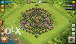 clash of clans and clash royale and hayday and boom beash one account