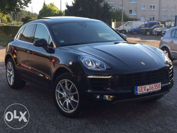 Porsche Macan S 2014 black on black GERMAN !!! fully loaded !!!