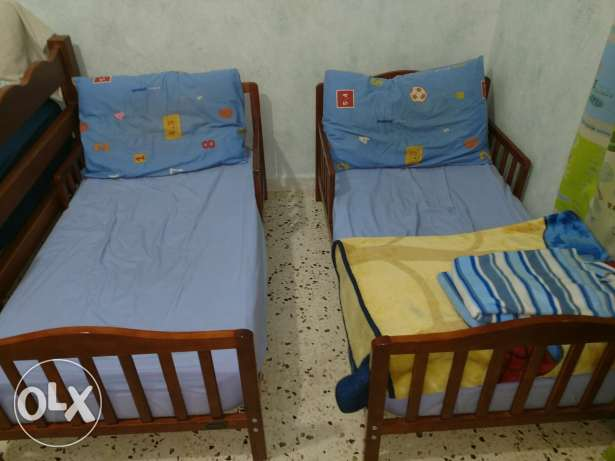 2 Small beds $120 both Ages 3-7