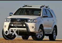 Wanted toyota fortuner مطلوب