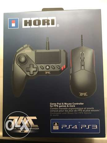 HORI mouse and pad for ps4