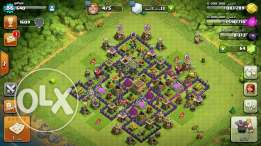 Clash of clans tawn 8 max lvl 86