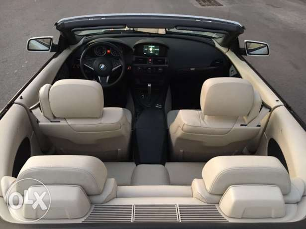BMW 650i 2007 convertible like new الروشة -  8