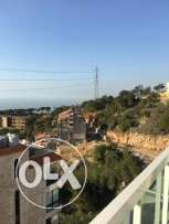 Duplex for sale in Ain Najem with spectacular view.