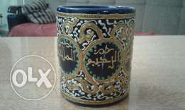 Cup hand made