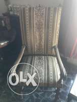 Vintage wooden chairs (x2)