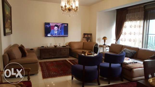 Furnished Apartment with Terrace for Rent in Dbayeh