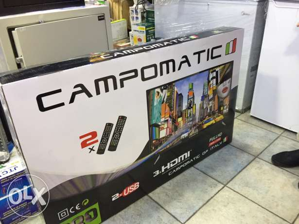 tv led 53 inch campomatic NEW