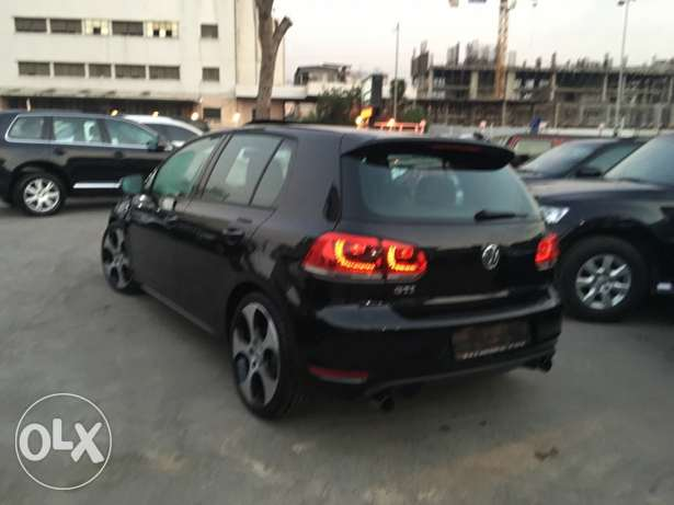 VW Golf VI GTI 2012 Black Fully Loaded in Excellent Condition! بوشرية -  4