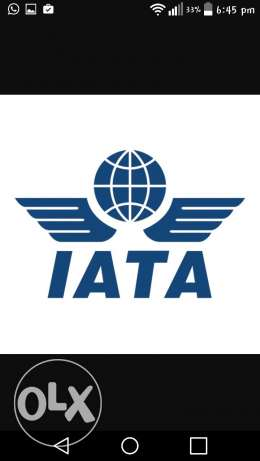 IATA certification for rent