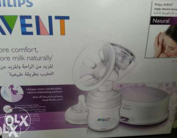 Breast electronic pump avent