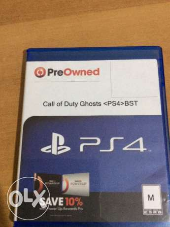 6 PS4 Un-Used Games