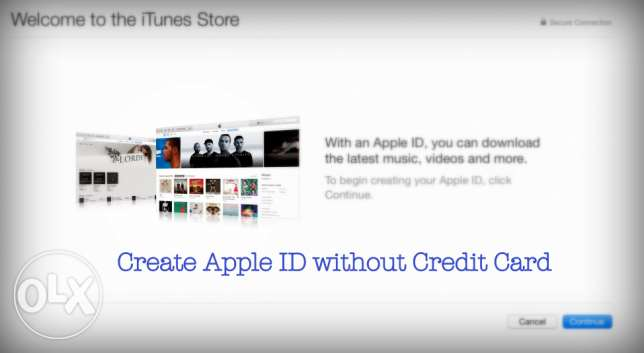Get Your Apple ID Now (without Credit Card)