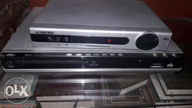DVD playet and Tv receiver