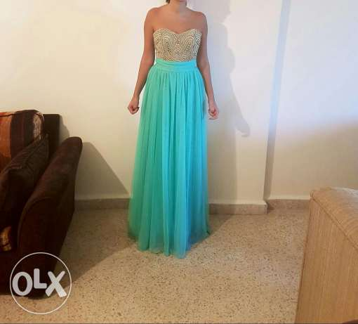 Evening dress size small(whatsapp only ) عاليه -  1