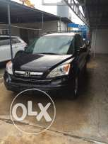 Honda CR-V Exl blk blk 4x4 full loaded ajnabe leather clean carfax