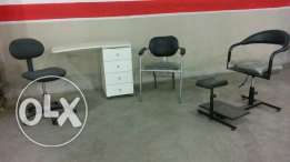 Furniture for beauty center