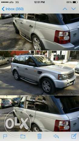 Range Rover Sport Edition 116000 miles, full option أشرفية -  1