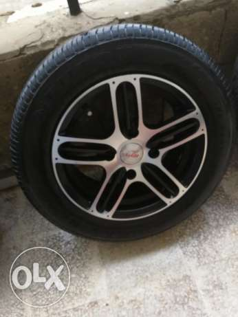 "14"" rims with tires"