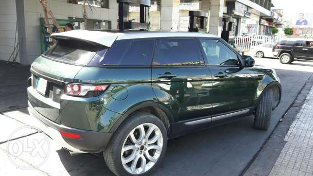 Range Rover Evoque 2012 pure plus بياقوت -  4