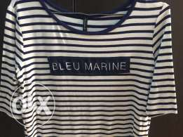 Bleu Marine Stradivarius Dress