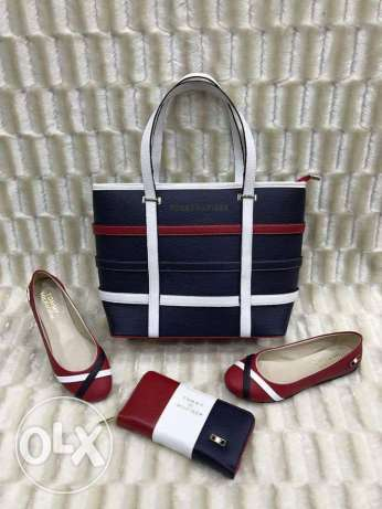 Shoes and bags tommy helfiguer