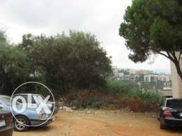 1727 sqm land with VIEW for sale in Naccache, Metn