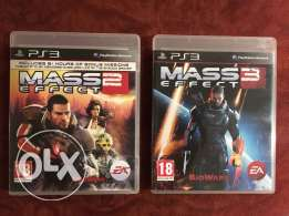 PS3 Games- Mass Effect (2-3) Collection