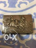 113 years old (1904) imperial Russian silver match case