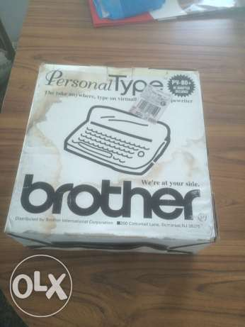 brother typing machine ضهر الصوان -  3