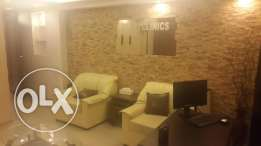 Full office furniture and 3 Ac for sale