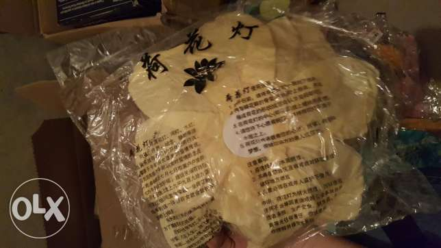 Variety of 125 chinese paper lanterns