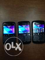 Blackberry bold 5, in a good condition,sell all 3 together