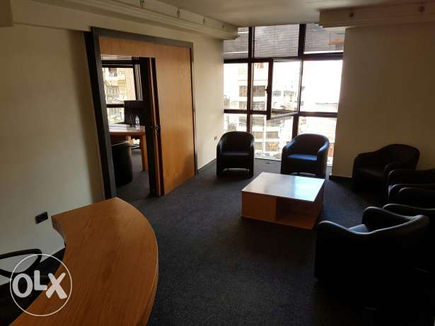 Furnished office for rent in Aley