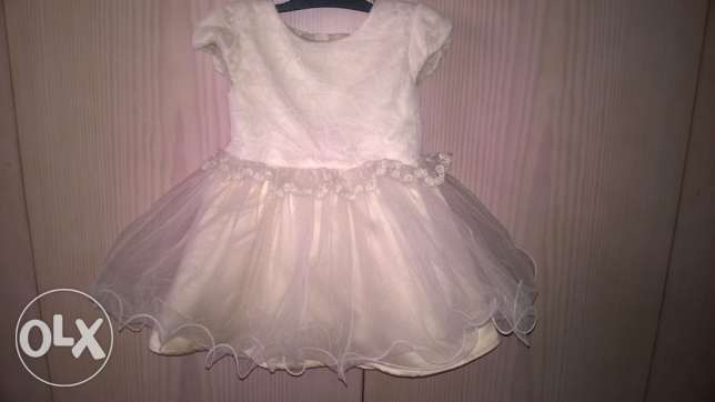 party dress size 9-12 months (74-84 cm) used 1 time only