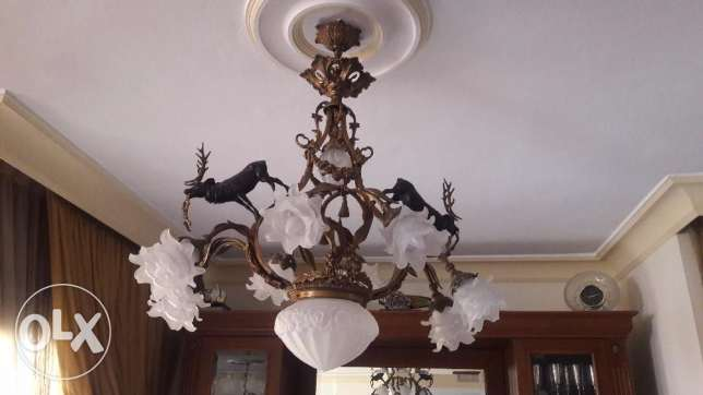 Lamps for salon, dining, living and entrance...