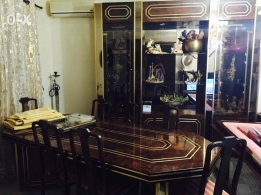 Table for 8 + closet for sale in good condition