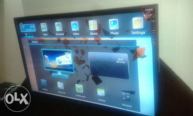 Tv like new smart 3D with glasses