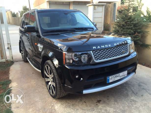 super clean range rover sport 2006 look autobiography 2013 حوش الأمراء -  1