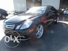 2011 MERCEDES E350 Coupe Excellent Condition Clean CarFax- Panoramic