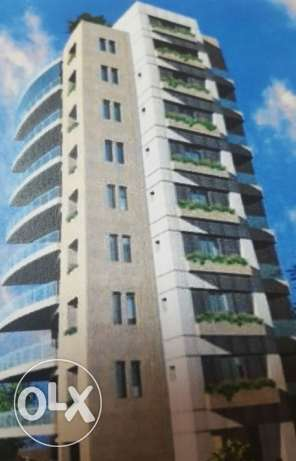Brand new 196 sqm apartments for sale in Zalka- VIEW زلقا -  1