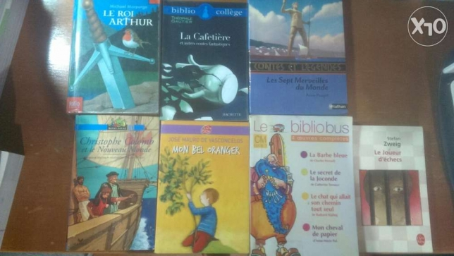 Books for Children aged 7 to 15