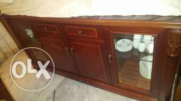 3 price Dining set, table with chairs and cabinet. New. excellent deal