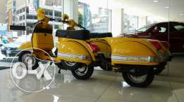 Vespa px with trail