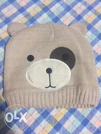 Bear cap for kids