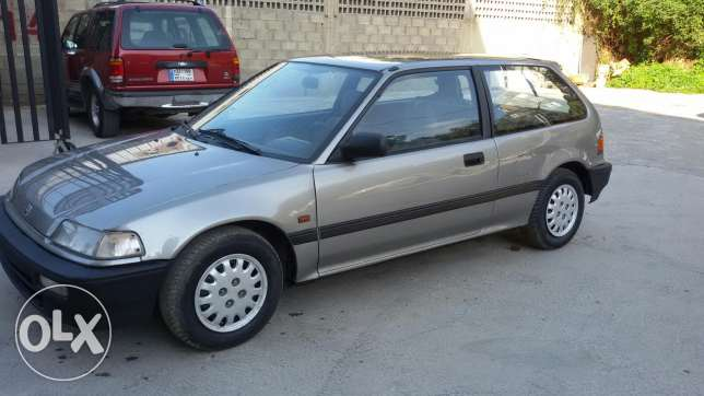 Honda civic 89 automatic