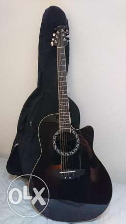 Acoustic Guitar, Ovation Applause, Black سن الفيل -  8