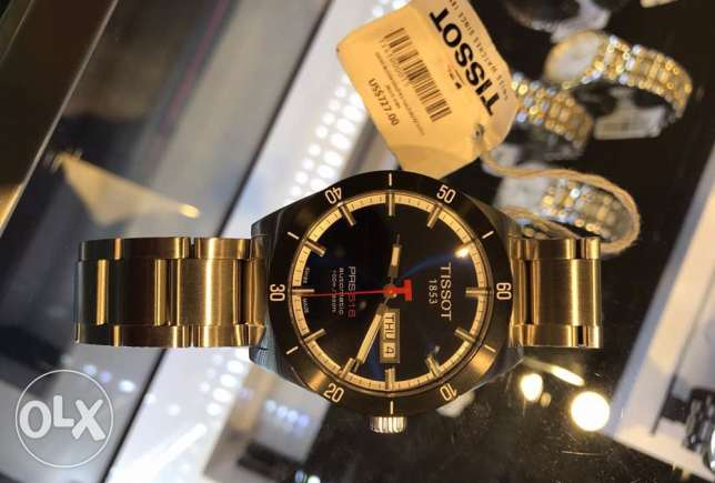 Authentic Tissot Stunning dark blue (Jdide not used ma3 kafelta)