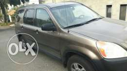 Honda Crv 2004 for sale. price is negotiable